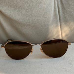 Oliver Peoples Polarized Aviator Sunglasses